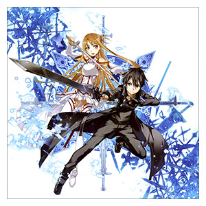 Sword Art Online. Размер: 30 х 30 см